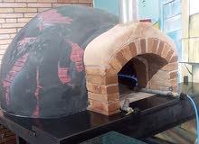 تصنيع وتركيب أفران البيتزا والمعجنات والخبز العربي والشوايات والبرديم  والدفايات