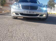 Mercedes Benz E 200 2004 For sale - Silver color