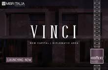 VINCI * مصر ايطاليا * شقتك بالعاصمه ب 15% و سدد علي 7 سنين * حي السفارات