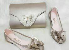 bd8c5fb80 احذية نسائية للبيع : فلات : سيت جنطة : بوت رياضي : ارخص الاسعار في ...