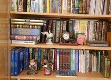 بيع  كتب متنوعه مكتبه كامله