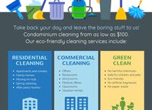 Blue sky cleaning services