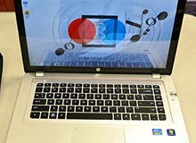 HP ENVY 15 CORE I7 3635 QM وبيشغل العاب 2017 و 2018 رمات 6 هارد 750