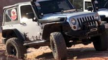 Grey Jeep Wrangler 2011 for sale