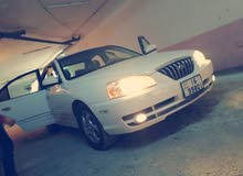 Automatic White Hyundai 2005 for sale