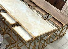 طاولات ومداخل جديدة بأشكال مختلفة