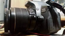 كاميرا كانون 650 D في حالة ممتازة