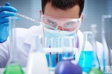 مهندس كيميائي و اخصائي معامل ادوية او فني