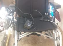 كرسي كهربائي مستعمل حمولة 250 كيلو بحاله ممتازه