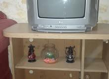 تليفزيون 14بوصه نظيف شغال مية بالمية