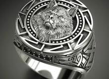 خاتم فضة silver ring