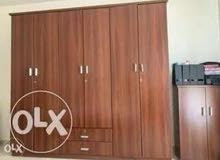 Closet for bedroom, brown color