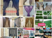 curtain,carpet,Wallpapers and barkia fixing and making need pl call 33656649