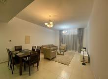 دبي قرية الجميرا الدائرية jvc غرفة وصالة مفروشة سوبر لوكس مع بلكونة - ايجار شهري