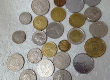 عملات معدنية  متنوعة ونادرة