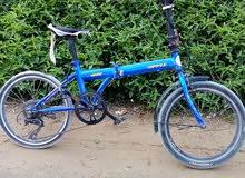 دراجه هوائيه مستعمله يوجد بها 2 من العيوب