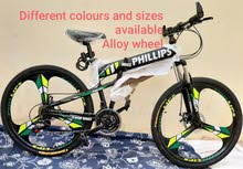 Alloy wheel bike