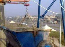 العمل بالونج الكهربائي لتصعيد كافة مواد البناء