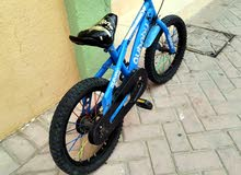 دراجه هوائية  وحذاء رياضي