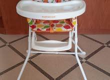 كرسي طعام انجليزي نوع مذركير غير مستعمل mother care high chair