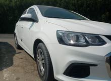 Chevrolet Aveo 2018 for rent, 2500 AED monthly, 70AED daily للايجار