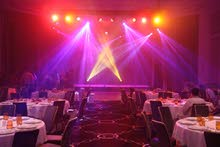 Lightings and sound system , truss lightings , moving heads , color wash lights