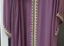 فستان سهرة مغربي