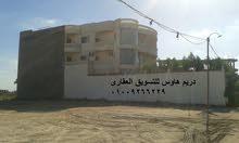 قطعة ارض للبيع 300متر بلاسكندريه على الدائرى امام فتح الله ماركت الدون تاون 01221112533