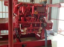 مضخة نظام الحريق لمصنع مواد كيميائة كاملة مع الخزنات