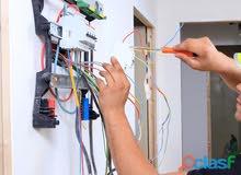 مهندس كهرباء لإصلاح الأعطال الكهربائيه للمحلات والمنازل والمصانع