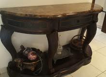 Dark Wood Console