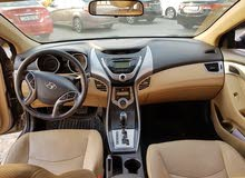Brown Hyundai Elantra 2014 for sale
