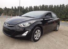 هونداي النترا موديل 2014 بحالة ممتازة جاهزة للتسجيل  Hyundai Elantra 2014
