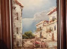 لوحة فنية قديمة ثحفة