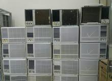 مكيفات شباك مستخدم نضيف جدا من400ريال للمكيف شاملة تركيب