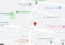 أرض تجارية لقطه-فى قلب عجمان-على شارع ش خليفة مقابل جسر غلفا-تملك حر للاستثمار