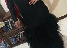 فستان سواريه اسود جديد
