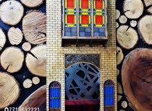 مجسم بيت الشناشيل مع مرآة