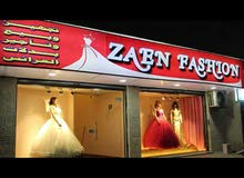 محل فساتين اعراس للبيع ، بابين يصلح لاي مشروع