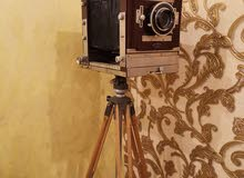 كاميرا انتيك خشبي للبيع