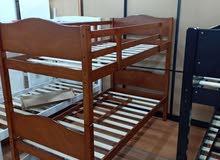 lit super posé bois rouge 1.90/80