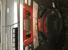 Stereo Sony  CFD-G50 CDAM FM Radio cassette Boombox  with pow Cord
