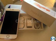 iPhone 6s 64gb gold with box
