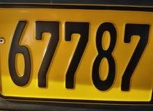مطلوب رقم سياره 67787