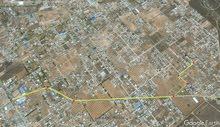 قطعة أرض للبيع اربع شوارع الكهرباء