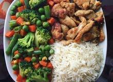 مطلوب وجبة غداء في غلا