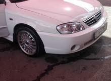 White Kia Spectra 2003 for sale