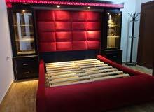 غرفة نوم ماستر وكاملة تفصيل بدقة متناهية أرقى تفصيلات ومواصفات