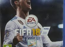 FIFA 18 عربي للبيع فقط