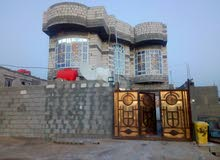 بيت ابو الخصيب شارع الوسطي قرب داره كهرباء طابقين 4 غرفه بناين حديث رايدينه 160